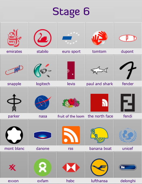 Stage 6 logo quiz full answers app by meeyo for android altavistaventures Gallery